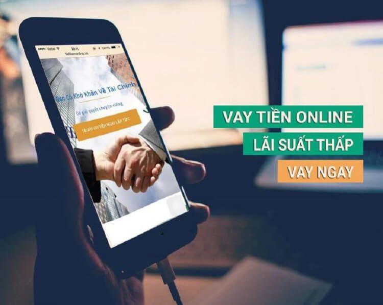 Vay tiền online qua app vô cùng tiện lợi