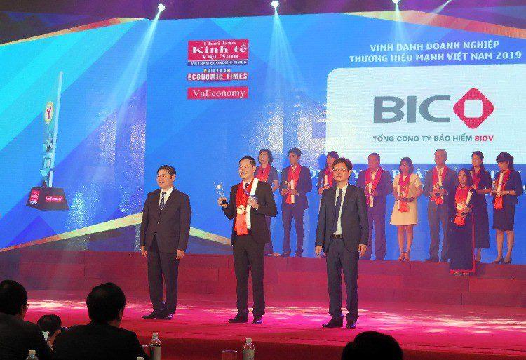 BIC nhận giải thương hiệu mạnh Việt Nam
