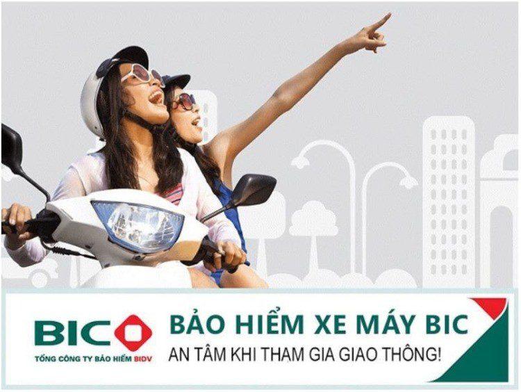 Bảo hiểm xe máy BIC