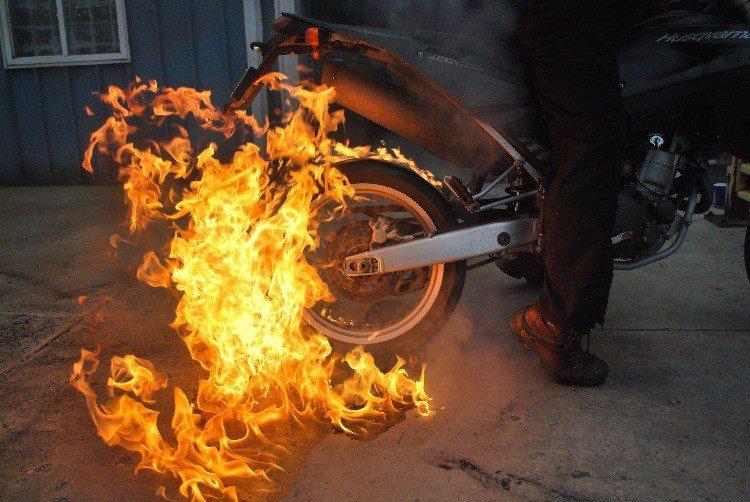 Được bảo hiểm khi xảy ra cháy nổ xe máy