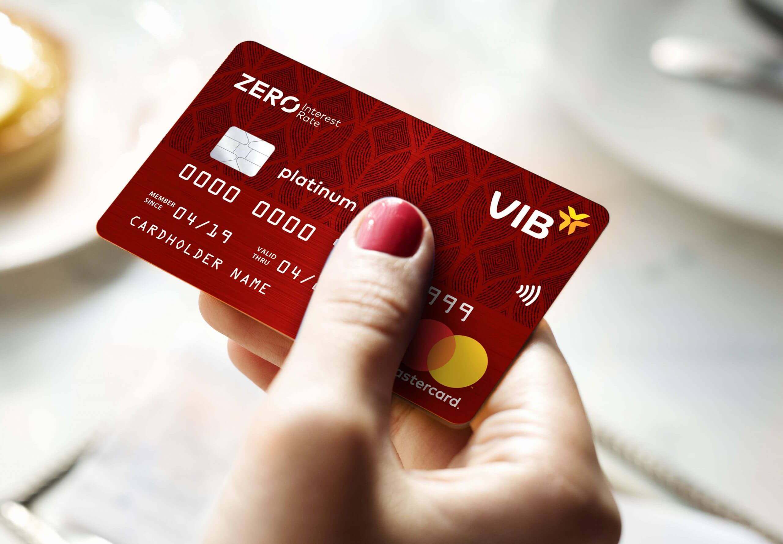 Thẻ tín dụng của ngân hàng VIB