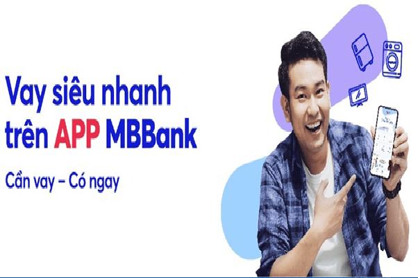 Vay tín dụng online dễ dàng, nhanh chóng với MB Bank App