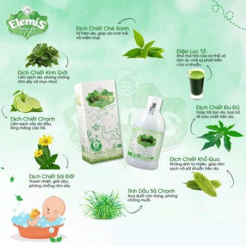 Sữa tắm cho bé sơ sinh chiết xuất từ thảo dược vừa an toàn vừa tiện lợi hơn