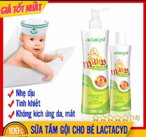 Sữa tắm cho bé sơ sinh của Pháp được nhiều mẹ tin dùng