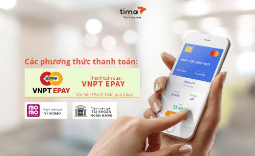 Đa dạng phương thức thanh toán khoản vay Tima