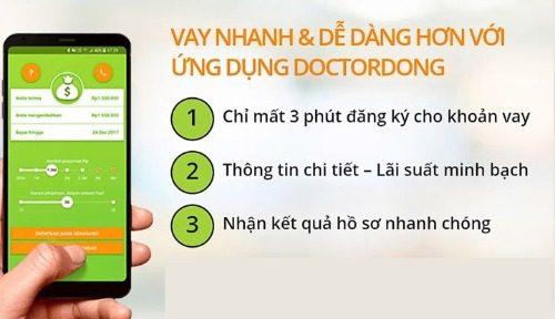 Vay dễ dàng qua app vay tiền Dr Đồng