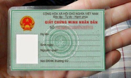 Hồ sơ mở tài khoản có chứng minh nhân dân