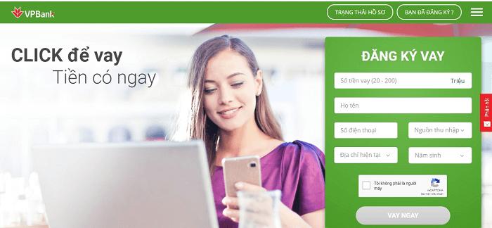 Đăng nhập vào VPBank Online