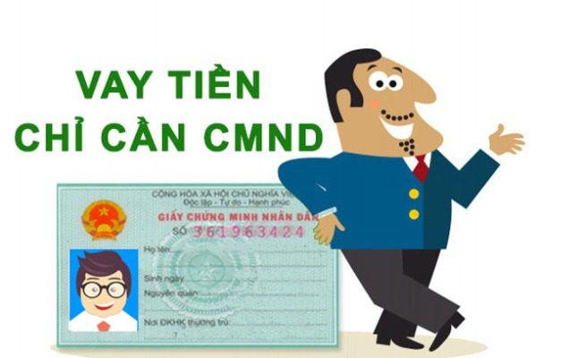 Vay tiền bằng CMND, CCCD