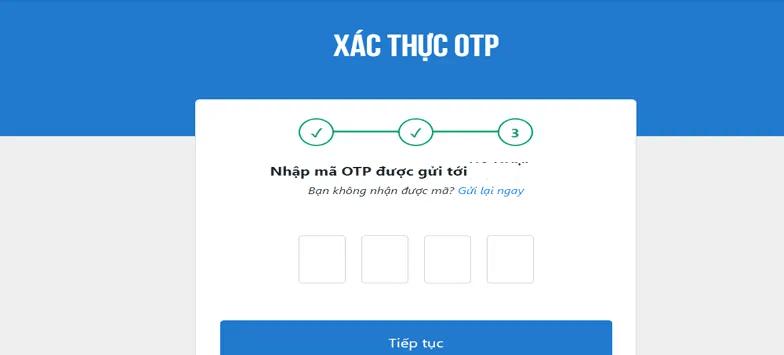 Xác thực OTP