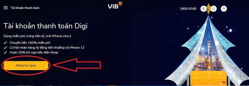 Tài khoản thanh toán Digi VIB