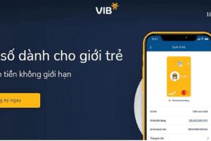 mở tài khoản VIB Online