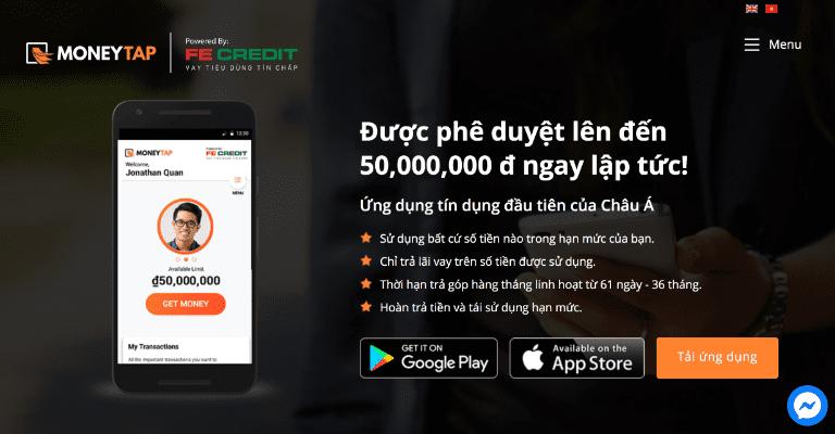 MoneyTap là app cho vay tiền online vô cùng linh hoạt