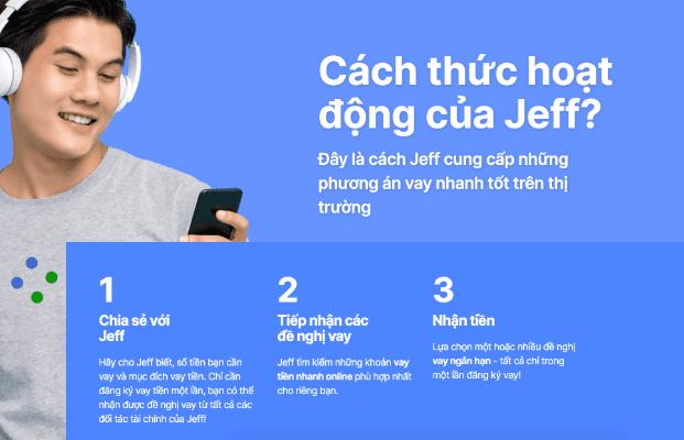 Cách thức hoạt động của Jeff App