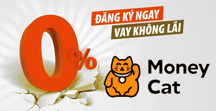 Moneycat - vay online chuyển tiền qua ngân hàng