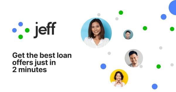 Jeff giúp bạn tiếp cận với các khoản vay nhanh chóng chỉ sau 2 phút