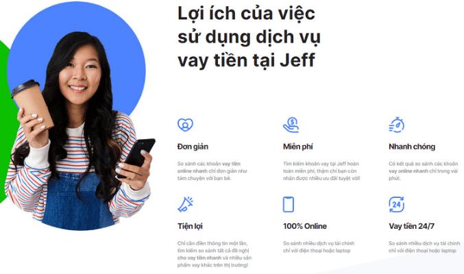 Jeff - Cầu nối tài chính tiện lợi