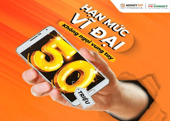 MoneyTap cho vay tới 50 triệu đồng