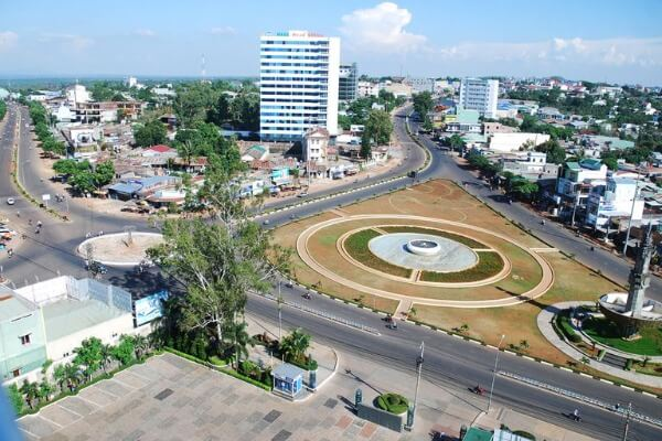 Tp.Pleiku là đô thị loại 1 của tỉnh Gia Lai
