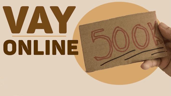 Vay 500K online nhanh chóng