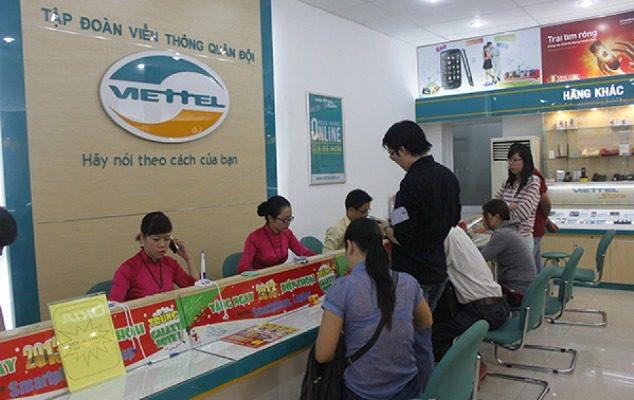 Thanh toán vay trả góp qua cửa hàng Viettel