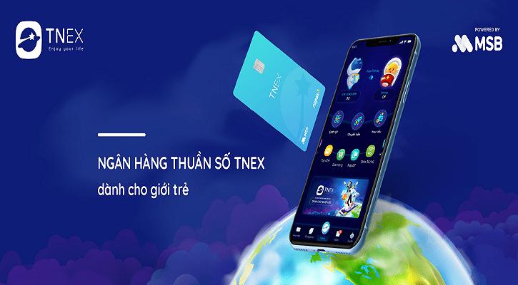 TNEX - Ngân hàng thuần số đầu tiên tại Việt Nam