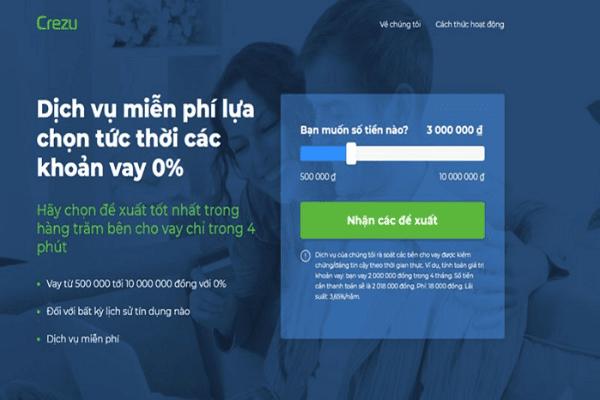 Crezu - Dịch vụ hỗ trợ vay tiền nhanh