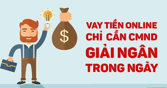 Ưu điểm khi vay tiền bằng CMND online