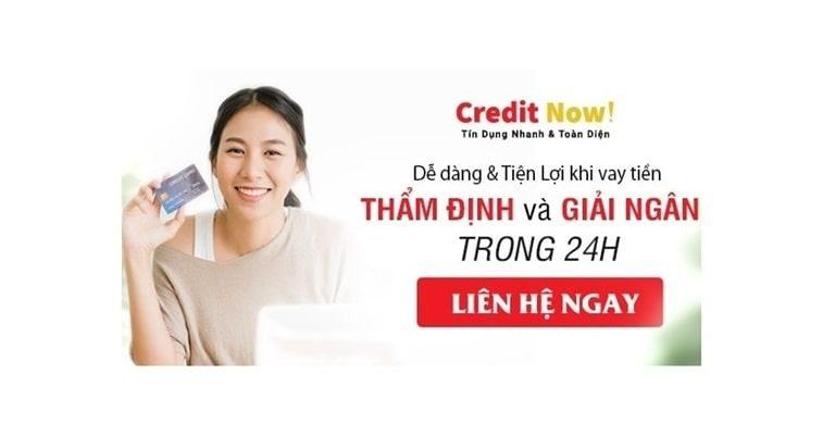 Giải ngân trong ngày tại Credit Now