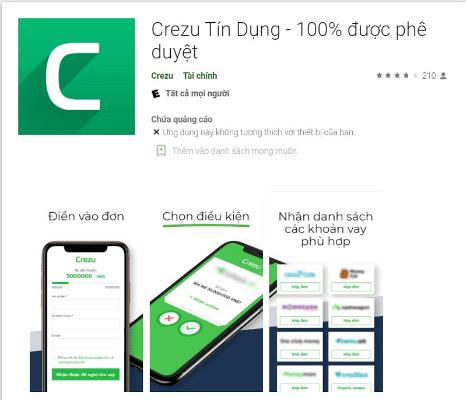 Crezu App - ứng dụng vay tiền số 1 hiện nay