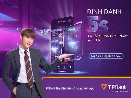 Mở thẻ TPBank online cùng Sơn Tùng MTP
