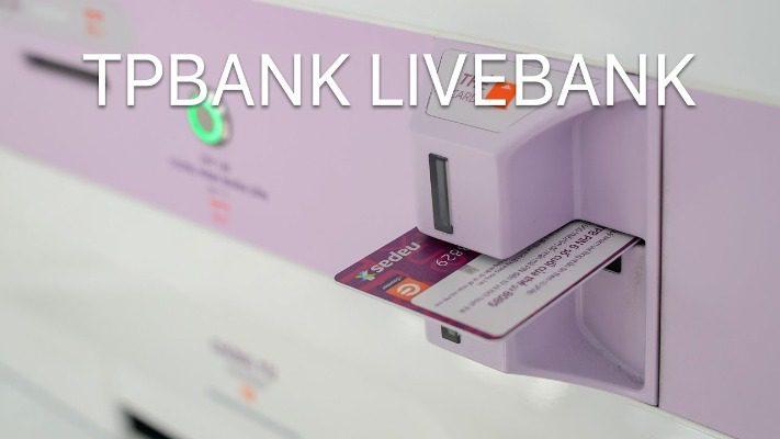 Mở thẻ TPBank tại Livebank