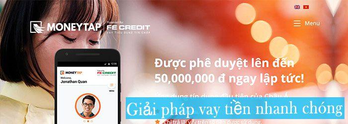 Vay tiền nhanh tại MoneyTap