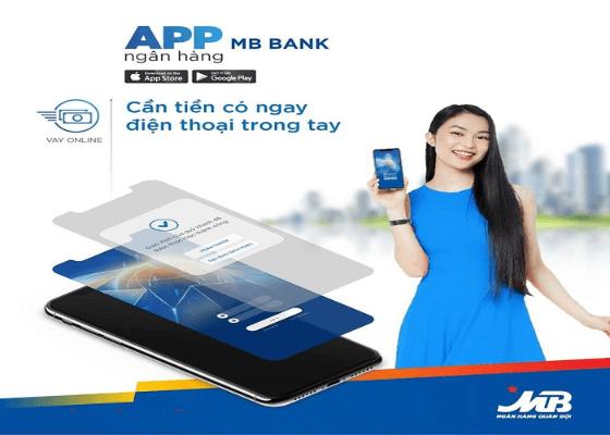 Vay MB Bank online