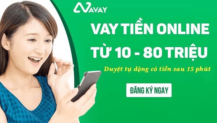 Avay - Hạn mức vay lên tới 80 triệu