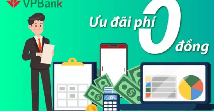 Mở tài khoản VPBank eKyc không mất phí