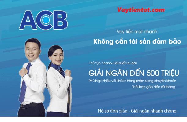 Vay tín chấp ABC với hạn mức lên tới 500 triệu đồng
