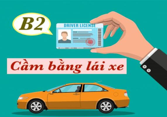 Cầm bằng lái xe B2