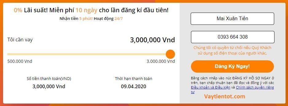Lựa chọn khoản vay MoneyCat