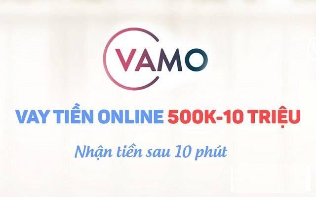 Vay tiền Vamo bằng sổ hộ khẩu nhận tiền sau 10 phút