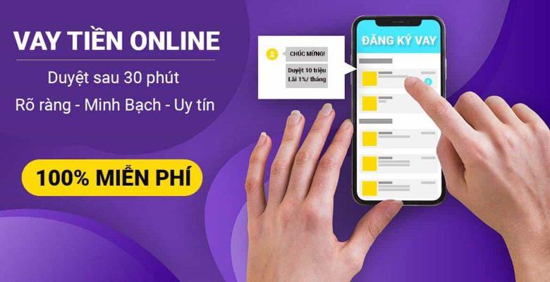 Vay tín chấp online nhanh qua app/web
